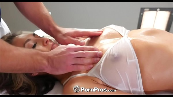 PORNPROS Oiled Up Massage With Sexy Small Breasted Kara Faux