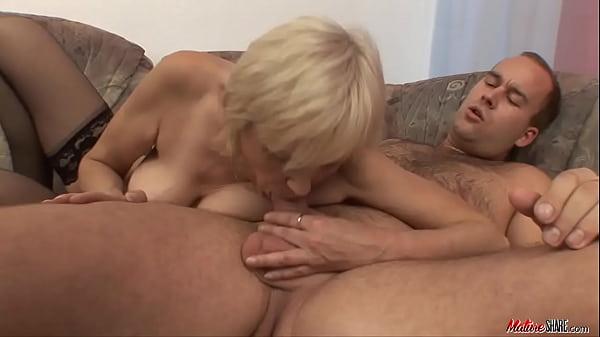Young hunk fuck his grandma