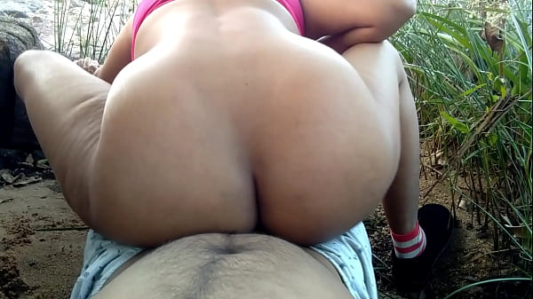 my first outdoor risky public painful rough sex with cousin sister Thumb