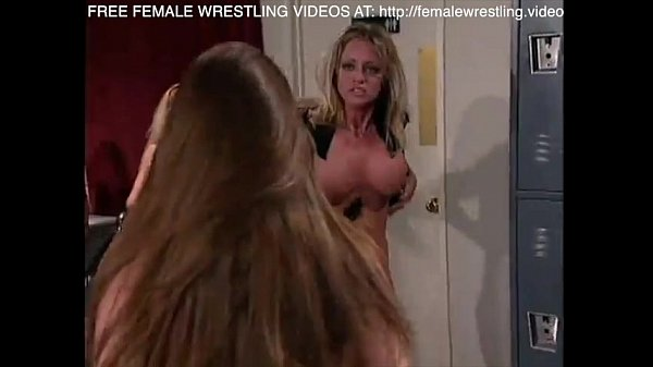 Female sex wrestling video