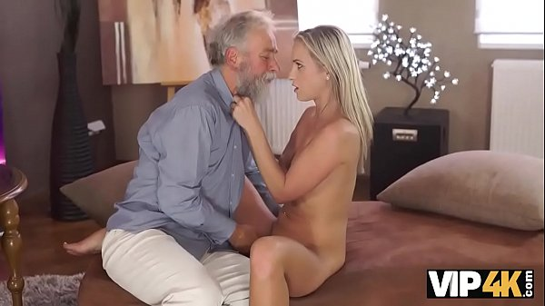 VIP4K. Cutie needs nothing more but old dick of her mature teacher