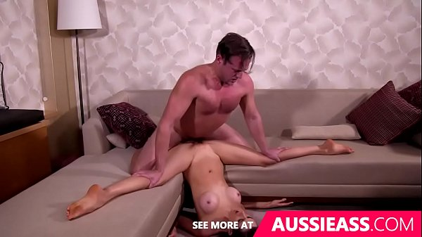 Cute aussie girl does splits while fucked upsidedown Thumb