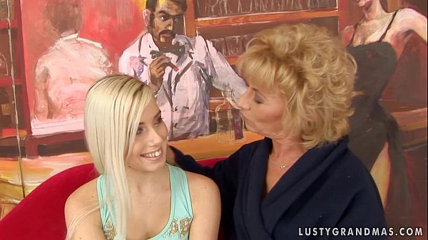 Granny with younger girl 7