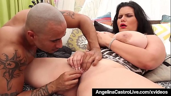 Cuban Dictator Angelina Castro Does Ice Ice Baby In Pussy! Thumb