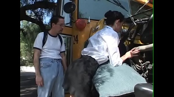 Schoolbusdriver Girl get fuck for repair the bus - BJ-Fuck-Anal-Facial-Cumshot Thumb
