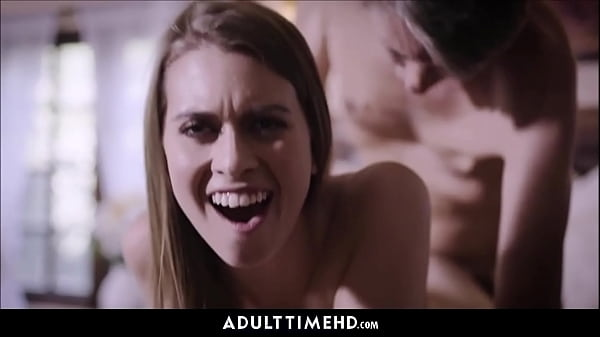 Teen Step Daughter Dramatic Threesome With Step Dad And Brother Double Cumshot