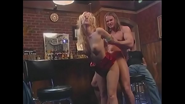 Young blonde bimbo with big knockers Hannah Harper was grateful to anchorman who chose her as a winner in the wet T-shirt contest