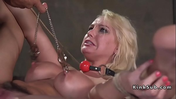 Kidnapped busty blonde babe chained and fucked Thumb
