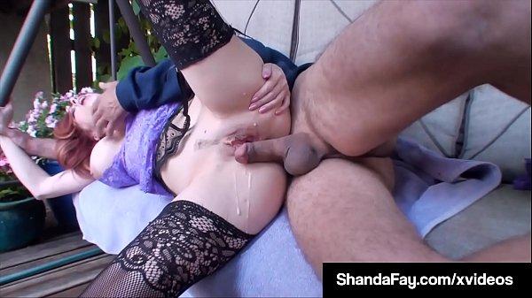 Узница блондинка Саманта Сэйнт трахается в камере с парнем