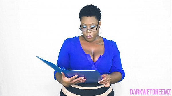 An Open Mouth Policy | Natural Ebony BBW Thumb