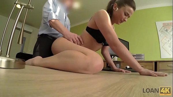 LOAN4K. Fraces likes new loan agent so agrees to fuck for money