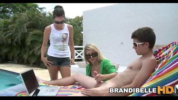 Poolside Cock Play Brandi Belle
