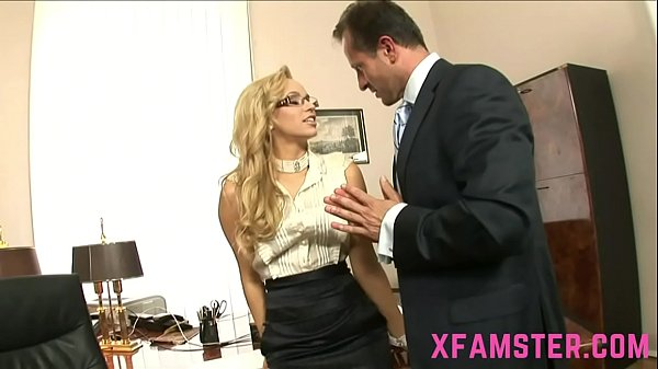 Slim amateur Chick Stepsister eager to taste last drop of cum face in office  thumbnail