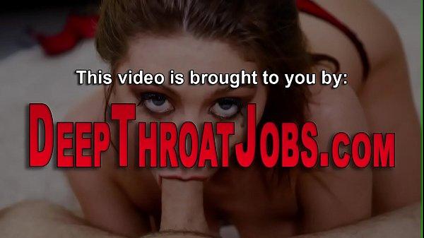 סרטון פורנו Slut in stockings deep throats big rod