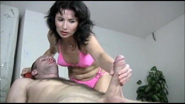 Naughty Milf Gives A Handjob Massage Thumb