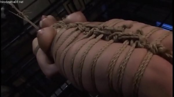 Filthy asian whore in shibari gets brutally spanked Thumb