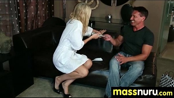SEXY body gets a happy ending massage 11