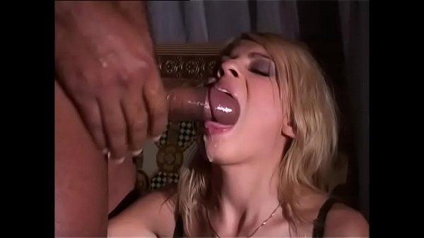 A Wonderful hot blonde wants to taste a big black cock Thumb
