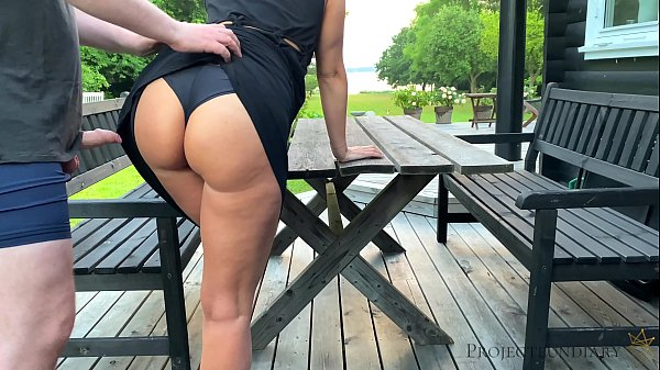 sex with stepdaughter before she leaves to school - morning outdoor quickie, projectsexdiary Thumb