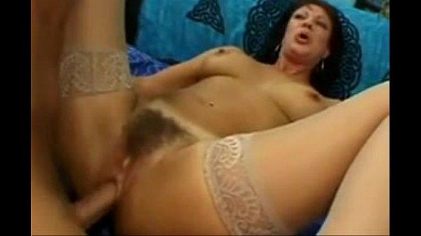 MILF Vanessa Videl in Tan Stockings Thumb
