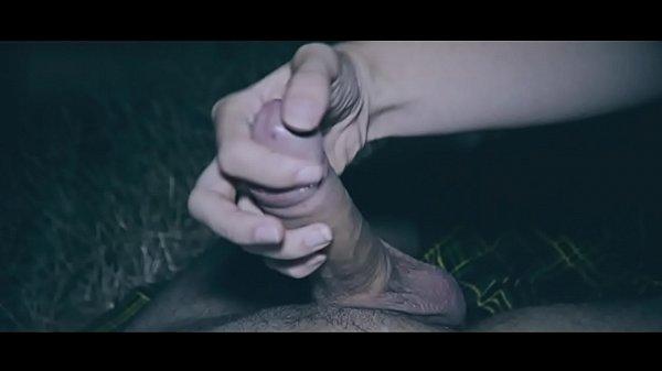 סרטי סקס Handjob Massage Outdoor Night