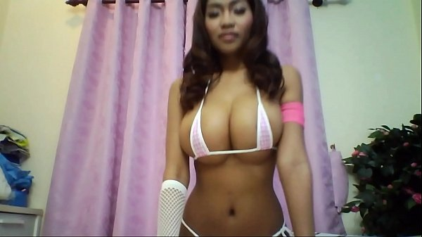 Huge Asian tits on webcam (FULL)