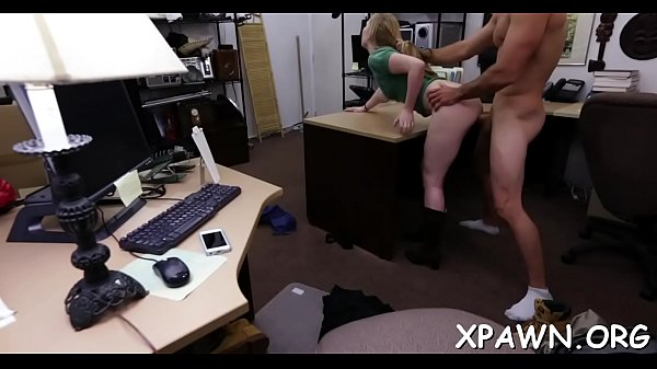 Beautiful slut sex in shop