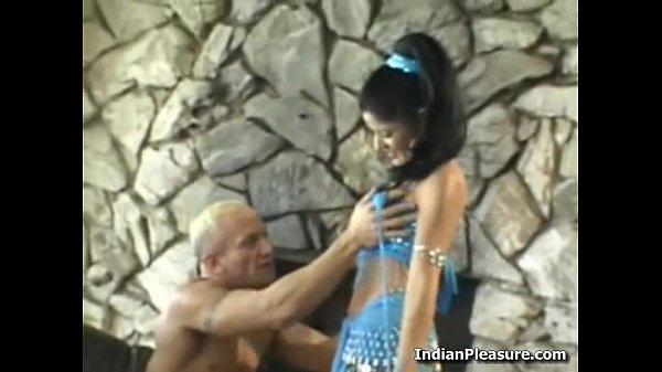 Hot Desi Babe Sucking 2 Cocks Thumb