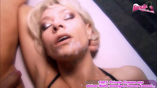 Slow motion Porn - german high quality threesome with blonde bitch