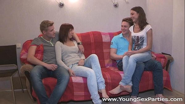 Young Sex Parties - Calling a friend for a sex party Kristina, Foxy Di Thumb