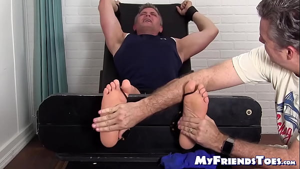 2019-01-18 02:01:14 - Restrained mature guy tickled with feather by a gay freak 8 min  1080p http://www.neofic.com
