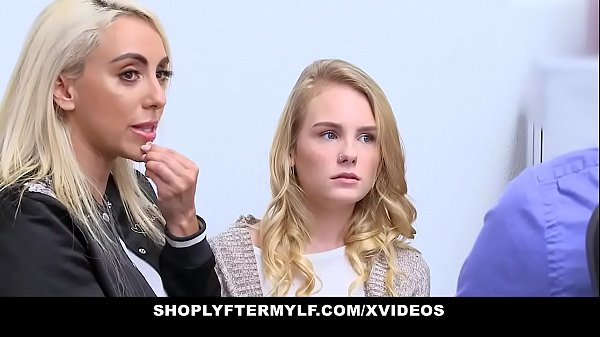 ShopLyfterMYLF - Blonde Mother  And  Daughter Fucked For Stealing Thumb