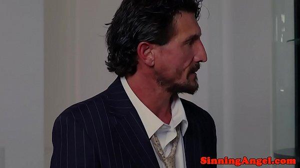 Ретро порно со вдовой #13