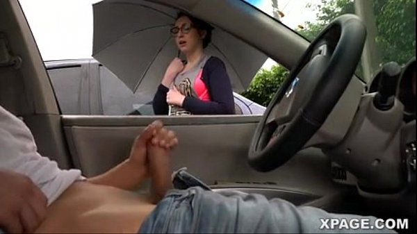 Dick flash and girl watches me jack off in my car - Pornspot Thumb