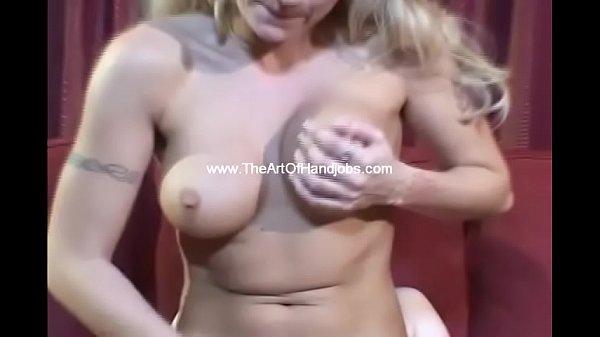 Blonde MILF Milks The Cock Handjob Thumb