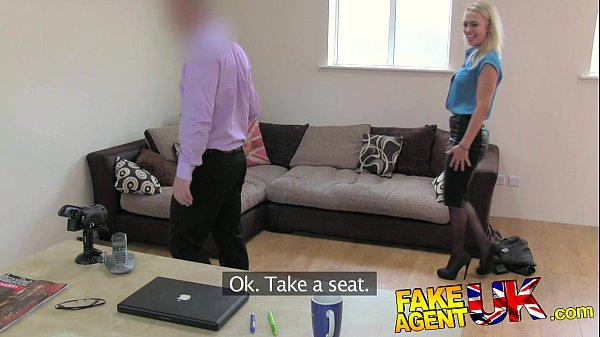 FakeAgentUK Hot British chick doubts agent in hardcore casting Thumb