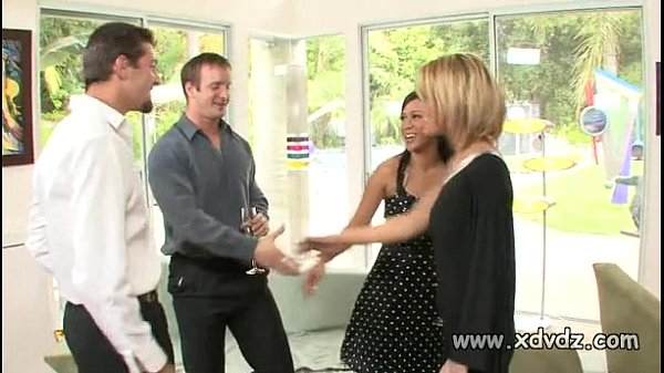 Sexy Housewives Holly Wellin And Kayme Kai Switch Their Husbands For One Afterno Thumb