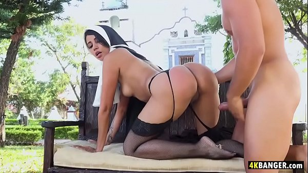 Squirter nun fucked hard - Yudi Pineda