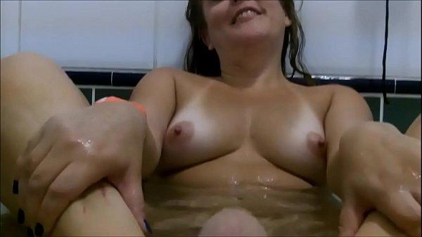 Having milk at the spa