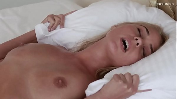 Real blonde big tits Darina Nikitina orgasmic massage Thumb
