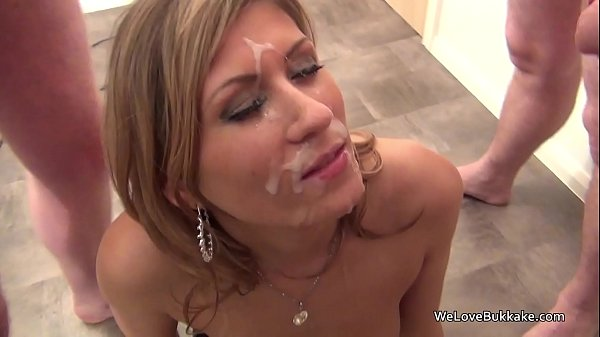 Classy MILF not afraid to take facial cum off strangers Thumb