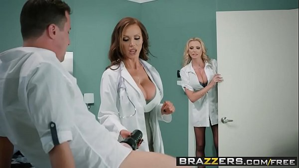 Brazzers - Doctor Adventures - Dick Stuck In Fleshlight scene starring Briana Banks Nikki Benz and J Thumb
