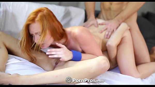 PornPros - Redhead gets fucked while licking her girlfriends pussy Thumb