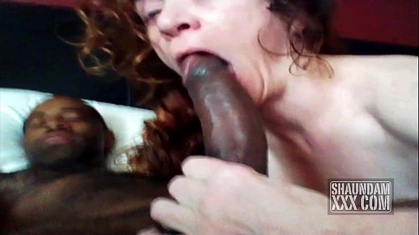 A Mouth Full Of Black Cock