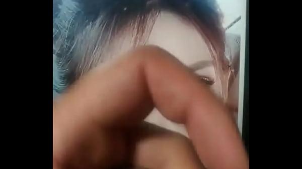 Asian girl cum tribute