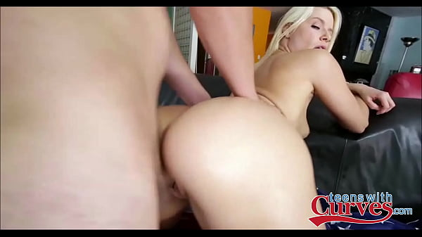 Sexy Blonde White Girl With A Nice Big Ass Gets Pounded - TeensWithCurves.com