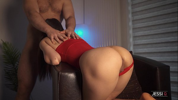 I suck his cock to make it ready to fuck me hard from behind