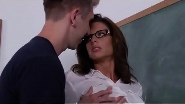 Additional lesson with his big boobs sexy teacher Thumb