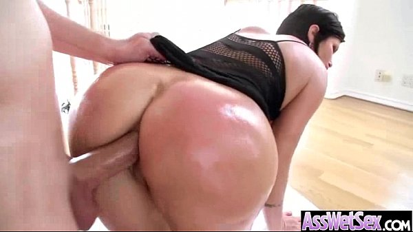 (shay fox) Slut Girl With Big Butt Get Oiled And Deep Anal Sex mov-25