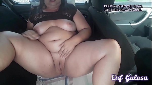 CUM IN THE CAR IN THE SUPERMARKET PARKING